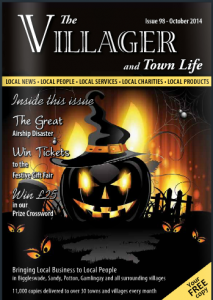 The Villager Biggleswade Oct 14 cover