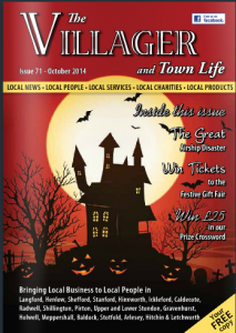 Villager Henlow Oct14 cover
