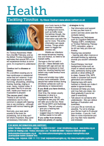 Tinnitus pdf snip